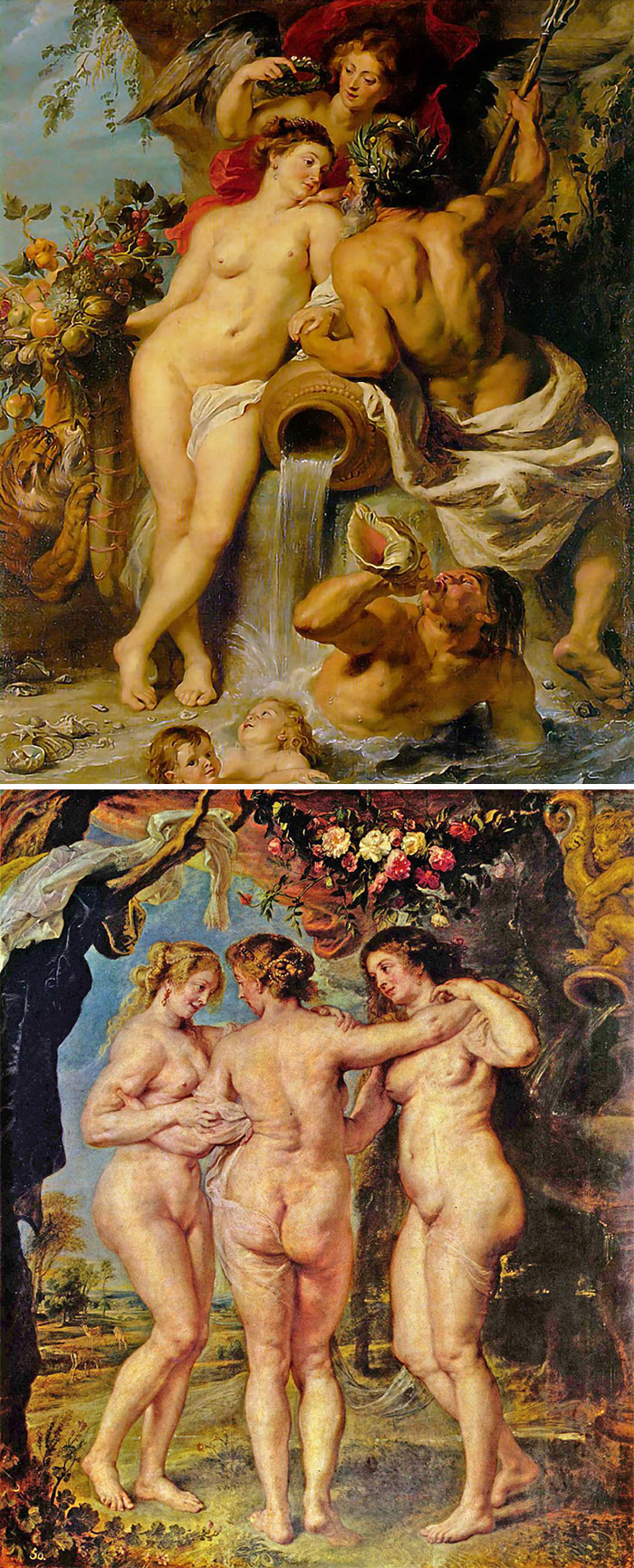 If Everyone In The Paintings Has Enormous Asses, Then It's Rubens