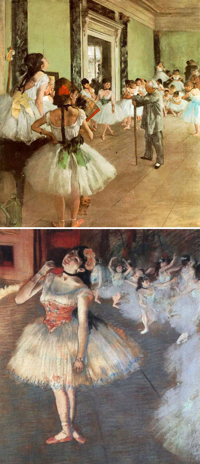 If You See A Ballerina, It's Degas