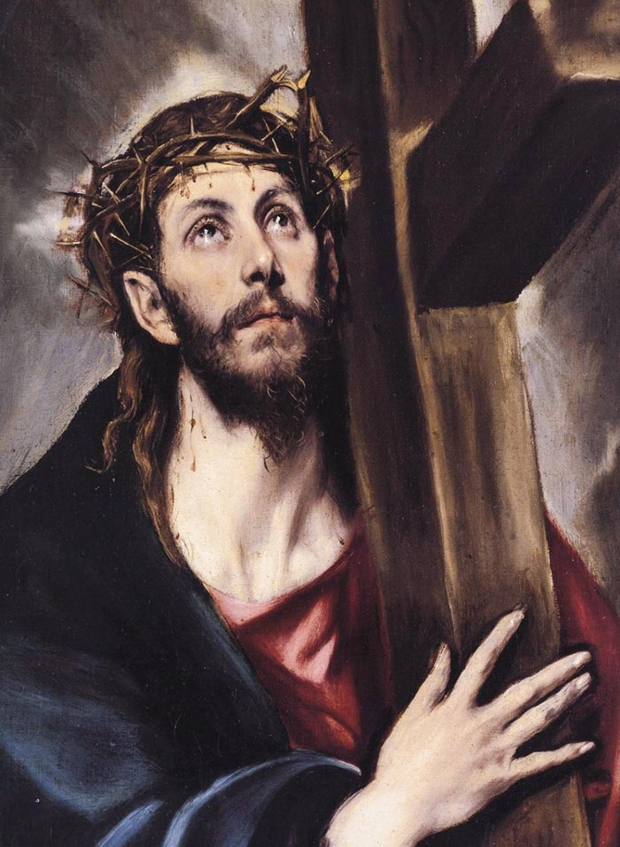 If Everything Is Highly-Contrasted And Sharp, Sort Of Bluish, And Everyone Has Gaunt Bearded Faces, It's El Greco