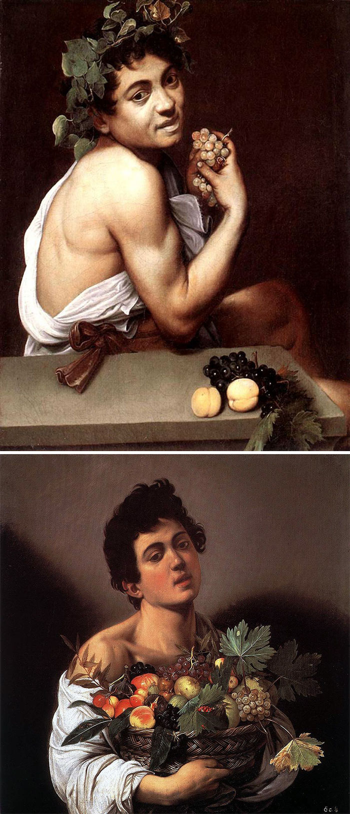 If All The Men Look Like Cow-Eyed Curly-Haired Women, It's Caravaggio