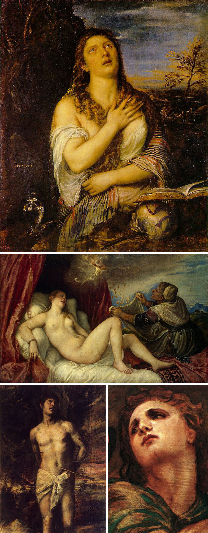 If The Images Have A Dark Background And Everyone Has Tortured Expressions On Their Faces, It's Titian