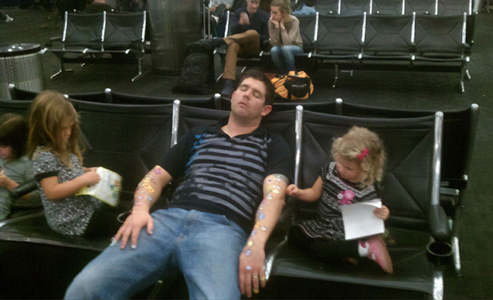 This Is Why You Don't Fall Asleep In An Airport