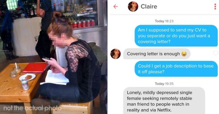Guy Sends A Cover Letter To His Tinder Match Who S A Business Teacher Completely Nails It Bored Panda