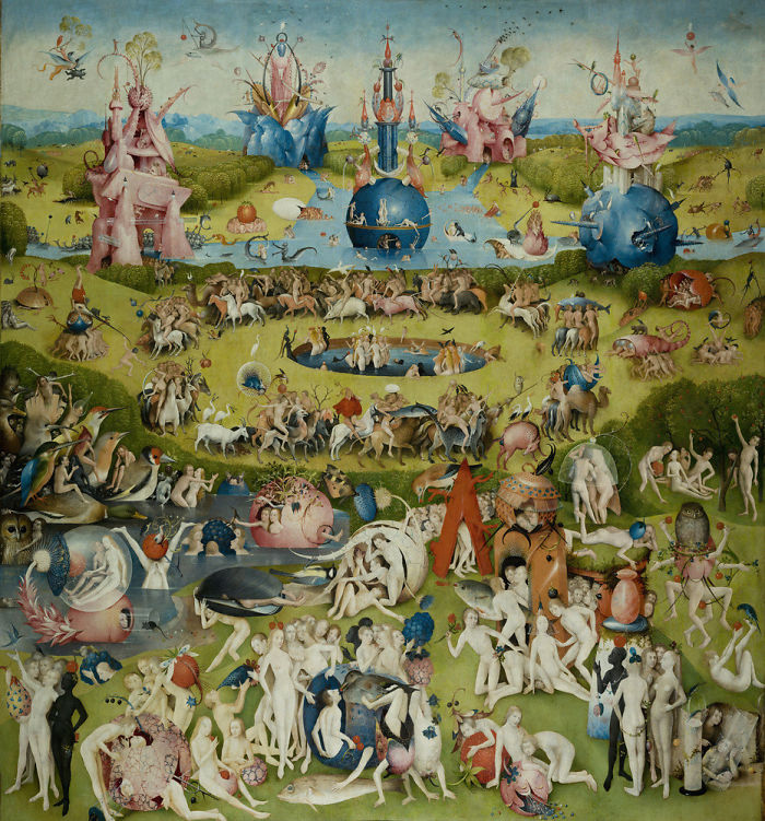 If The Paintings Have Lots Of Little People In Them But Also Have A Ton Of Crazy Bulls#%t, It's Bosch