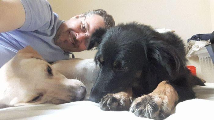 Brazilian priest welcomes stray dogs inside church to be adopted 5daff6fa73060  700 - O que fez o cachorro ao ver a porta da igreja aberta?