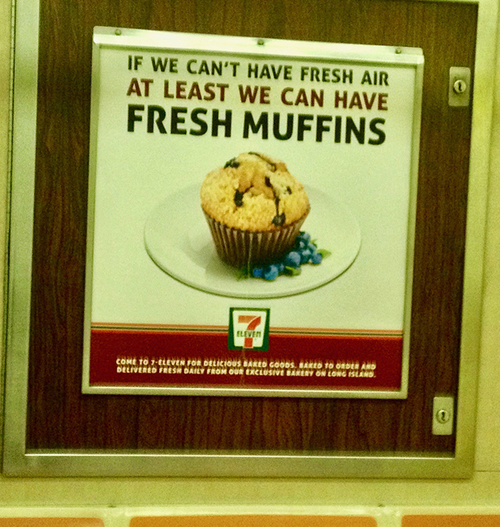 If We Can't Have Fresh Air, At Least We Can Have Fresh Muffins