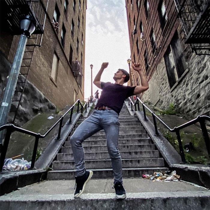 joker stairs tourist attraction new york 5db00075ec938  700 - Escadas do 'Coringa' em Nova York se tornam uma atração turística!