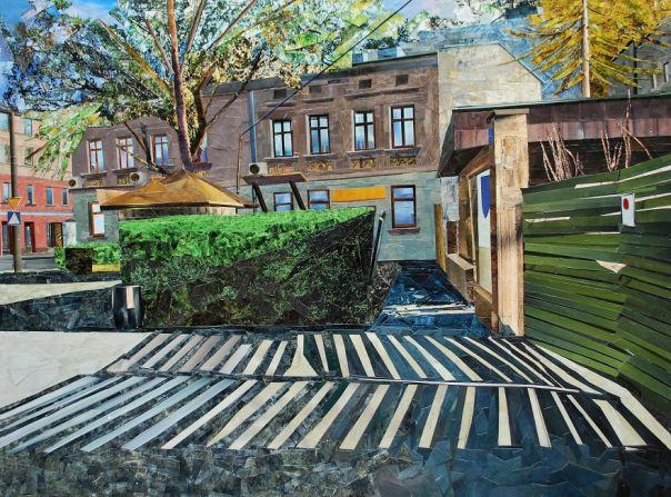 """Old Gate"", 60x80 cm"