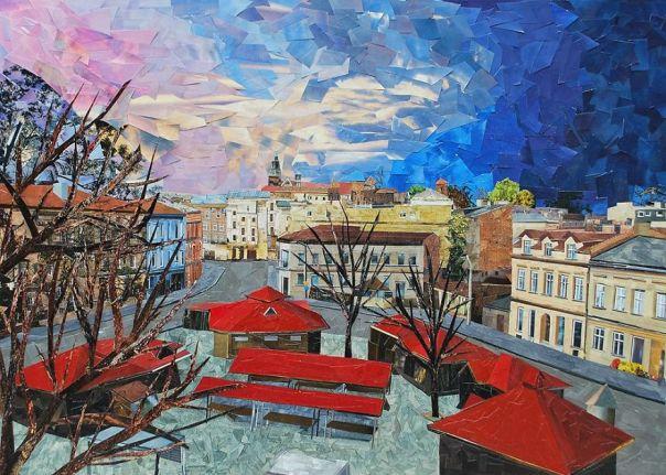 """""""Rynek Dębnicki"""", 50x70 cm"""