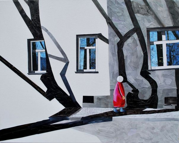 """""""Game Of Shadows"""", 50x60 cm"""