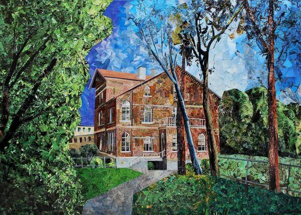 """Art-House"", 65x92 cm"