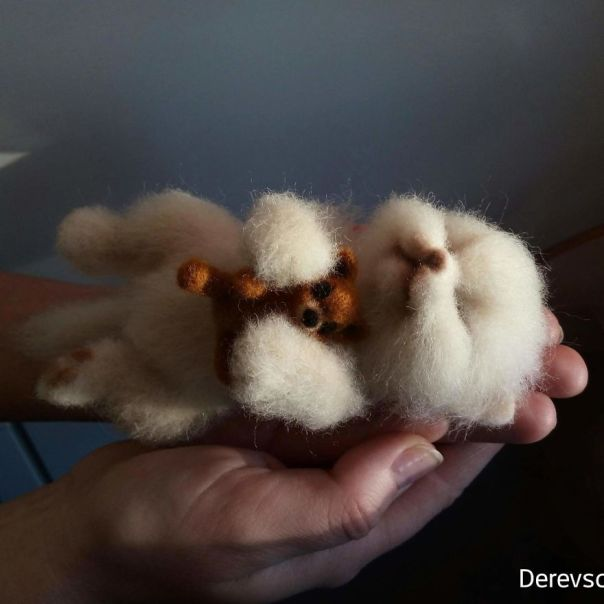 Russian Artist Creates Animals From Wool That Are Incredibly Realistic