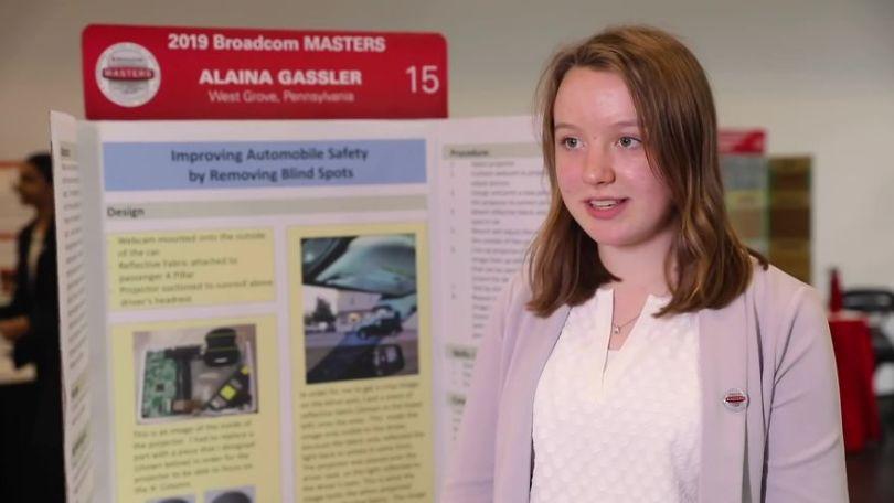 blind spot removal invention alaina gassler 5dbc558887450  880 - Menina de 14 anos encontra maneira de resolver pontos cegos nos carros