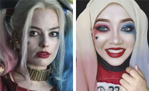 Woman Uses Her Hijab To Turn Herself Into Pop Culture Characters (30 New Pics)