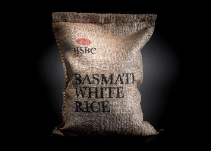 Basmati White Rice By HSBC