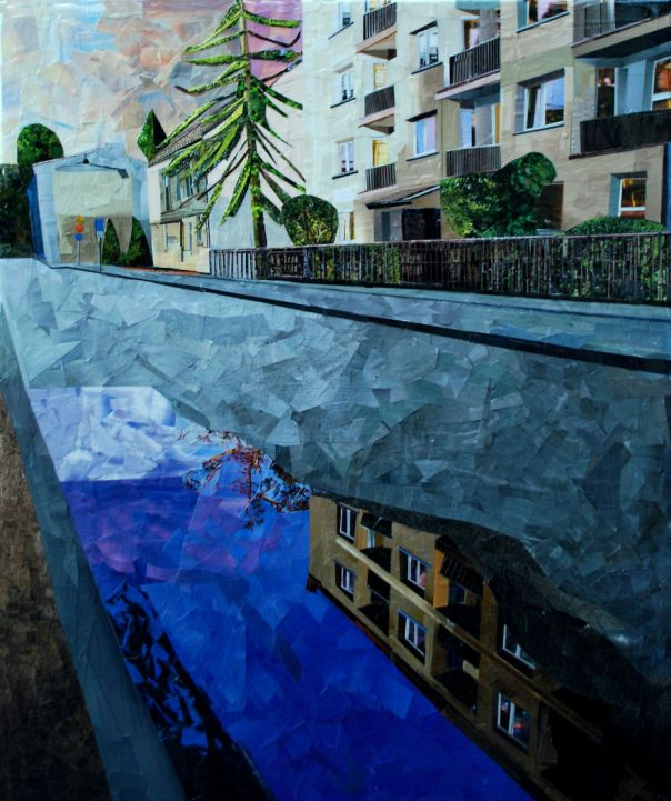 """Reflection"", 60x50 cm"