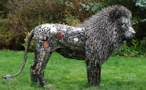 American Artist Brings Recycled Materials Back To Life, Here Are 64 Of His Incredible Sculptures