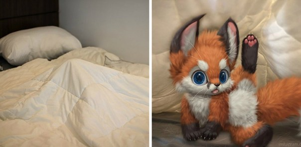 Artist Creates Extremely Cute Digital Animals And Brings Them To The Real World