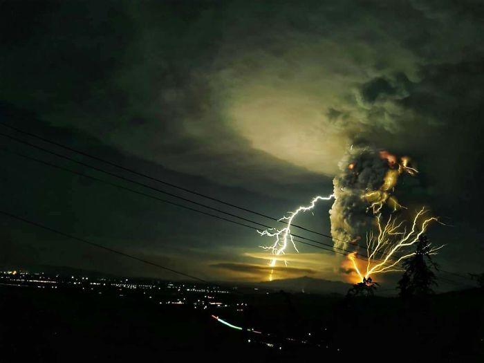 Taal Eruption