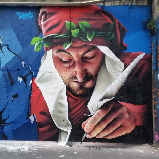 This Street Performer Beautifies The Walls And Empty Spaces Of His City With His Stunning 3D Art.