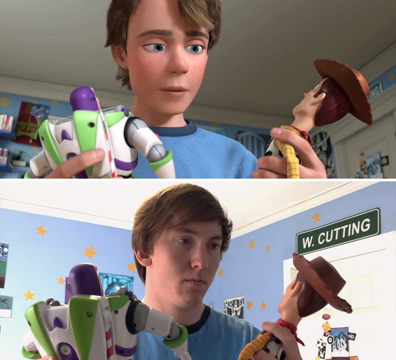 """Two brothers completely remake Toy Story 3 with real toys in 8 years 5e3154dc8fca9 png  880 - Inacreditável! Irmãos recriaram o """"Toy Sotry 3"""" durante 8 anos"""