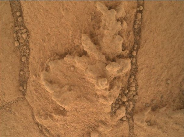 Resistant Features In 'Pahrump Hills' Outcrop