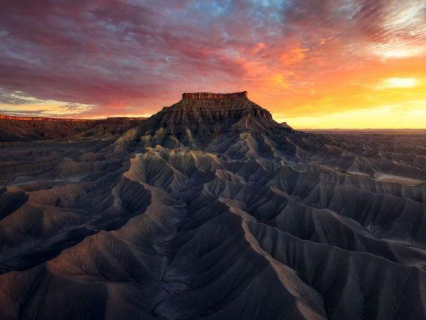 North Caineville Mesa, Capitol Reef National Park, Utah, USA By Armand Sarlangue