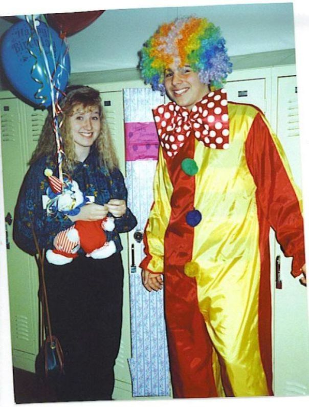 "When I Was 14 I Was Dating A Girl From Another High School. I Decided To Surprise Her On Her Birthday By Dressing Up As A Clown And Busting Into Her Classroom Singing ""Happy Birthday"". She Was Mortified! When The Dust Settled She Thankfully Realized The Thoughtfulness That Went Into The Gesture"
