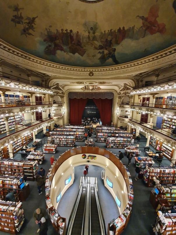 This Former Theatre In Buenos Aires Transformed Into A Bookstore