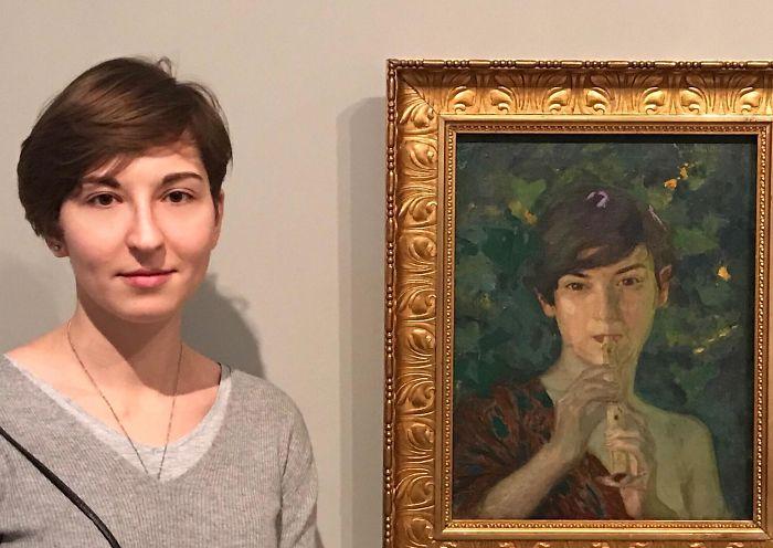 Found Myself In Berlin Museum