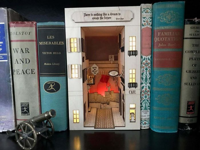 A Booknook Inspired By Les Miserables