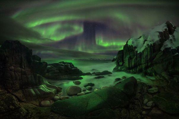 Barents Sea, Teriberka, Russia By Sergey Semenov