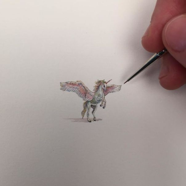 The Stunning Mini Paintings By Brooke Rothshank