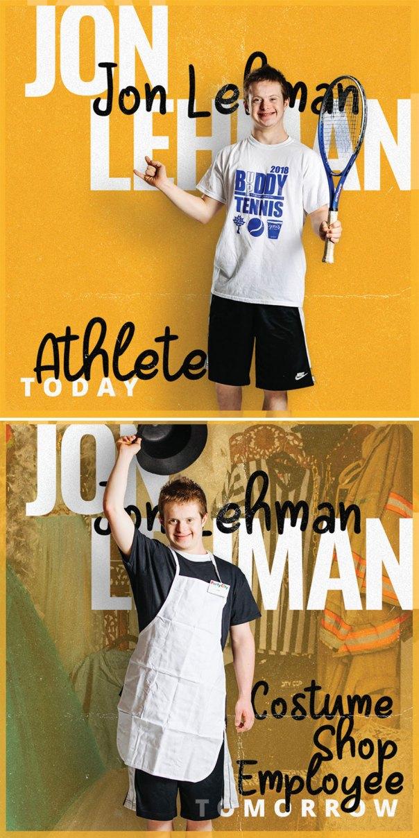 Jon Lehman, Costume Shop Employee