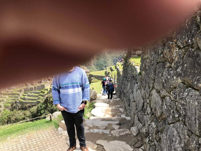 This Photo My Dad Took Of Me At Machu Picchu