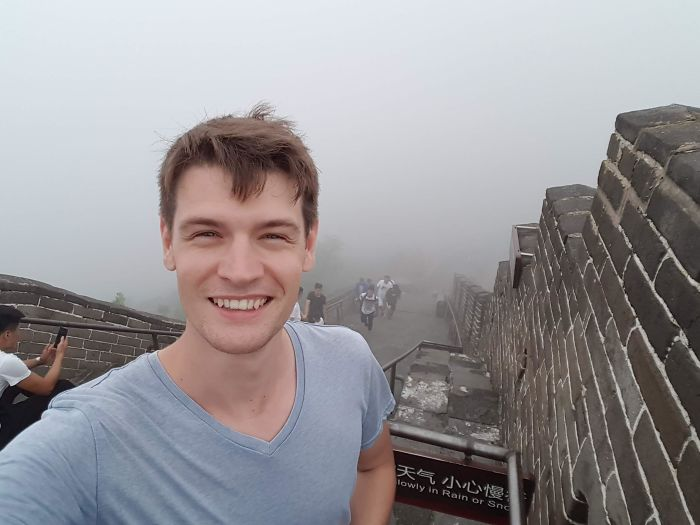 The Day I Visited The Great Wall Of China