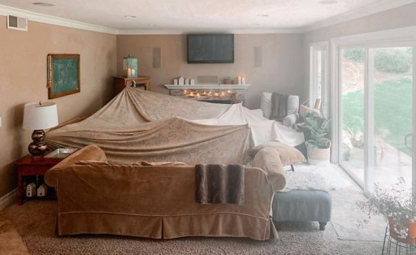 Schools And Sports Are Cancelled. Social Distancing. I Have Three Kids. Our Cozy Fort
