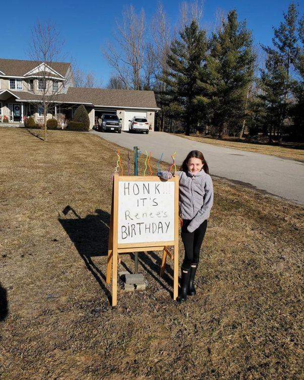 Honk, It's Renée's Birthday!