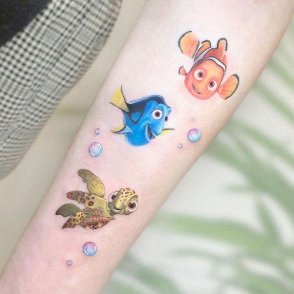 Mini-Colored-Pop-Culture-Tattoo-Kozo
