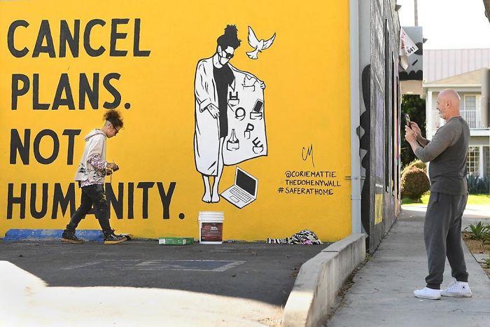 Los Angeles, USA. Artist: Corie Mattie