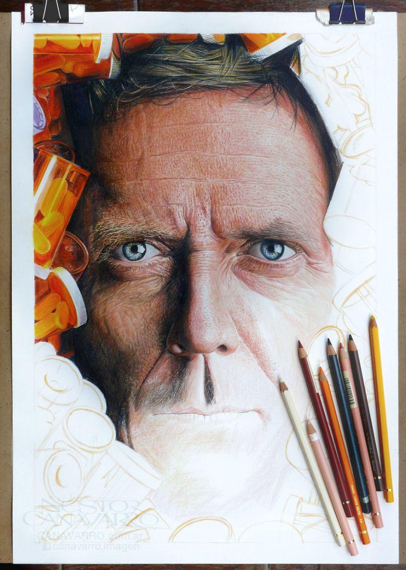 More Hyper Realistic Colored Pencil Drawings 5e78ae4177848  880 - Os desenhos hiper realistas de Nestor Canavarro