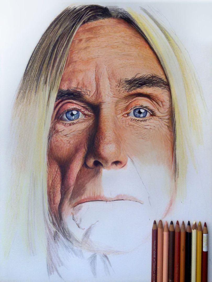 More Hyper Realistic Colored Pencil Drawings 5e78ae526df81  880 - Os desenhos hiper realistas de Nestor Canavarro