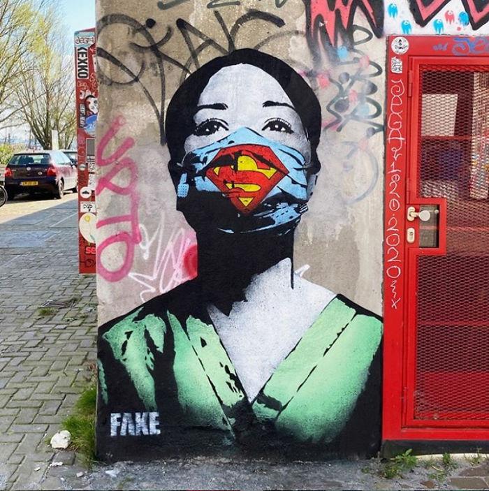 Amsterdam, The Netherlands. Artist: Fake
