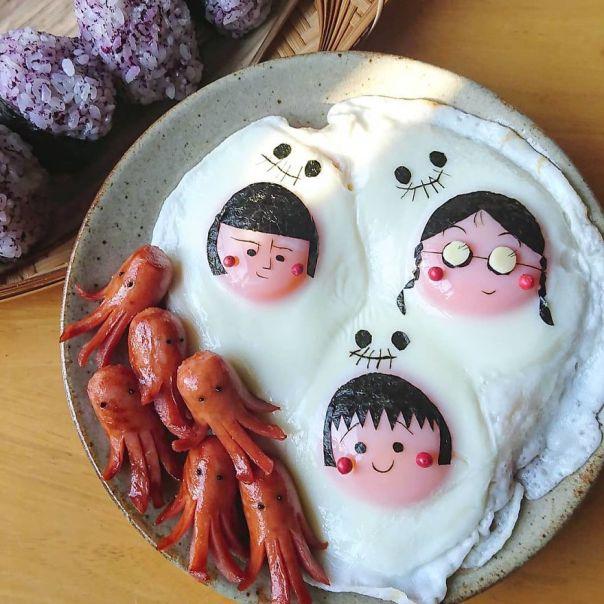 Japanese-Mom-Egg-Food-Art