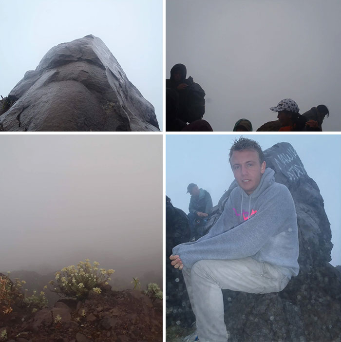 """10 Years Ago I Climbed The Volcano Of Bali """"Mount Agung"""" 4 Am In The Morning To See The Beautiful Sunrise"""