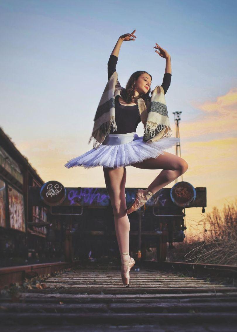 Dançando nas ferrovias
