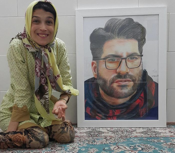 Desativado-Iranian-Artist-Draws-With-Feet-Fatemeh-Hammami-Nasrabadi