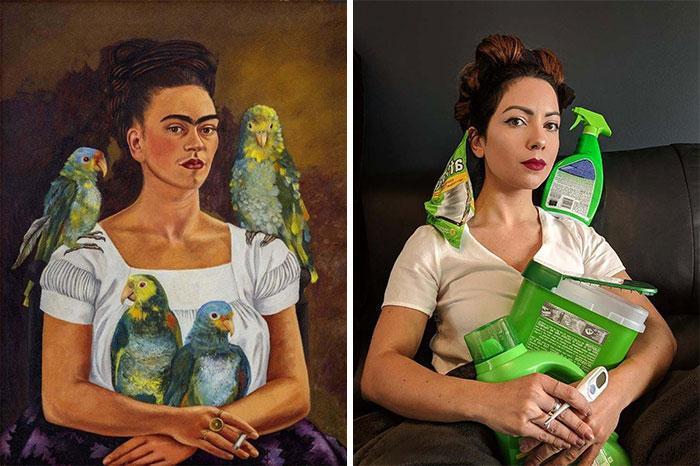 Getty Challenge - Frida Kahlo