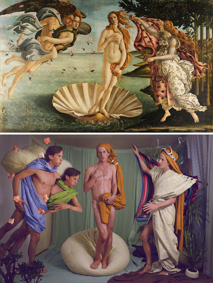 My Contribution To The Getty Challenge. The Birth Of Venus By Botticelli