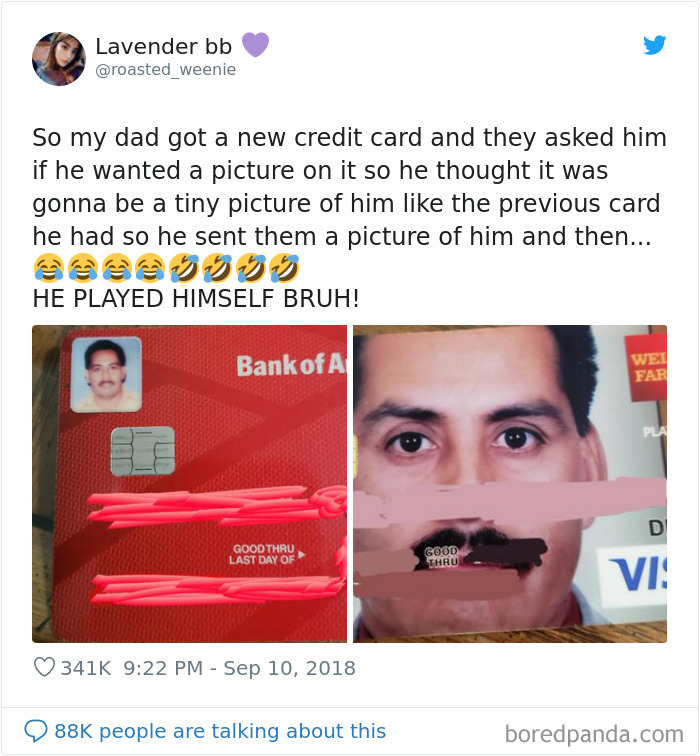 Picture On The Credit Card